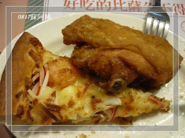 20070815 蘇阿姨Pizza 唯一一張未食用的照片