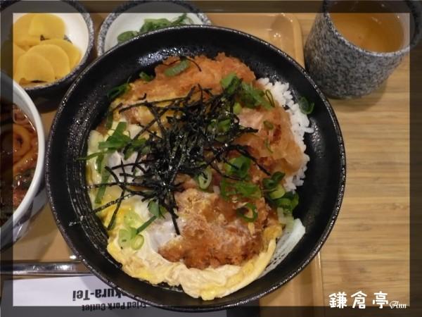 2008 三重家樂福 鎌倉亭 還不錯的豬排飯 可惜醬汁一樣少了點