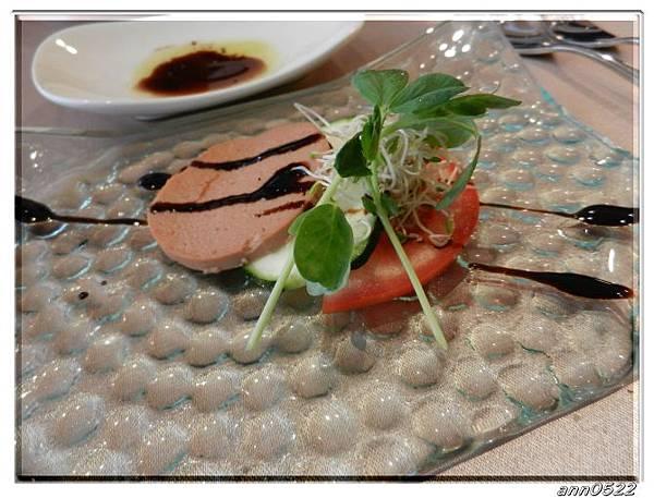 0831cibocibo前菜(肝醬櫛瓜蕃茄).jpg