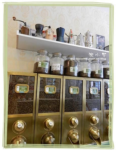 20110911烘焙者 咖啡豆出售區.jpg