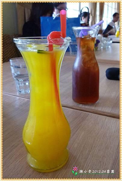 20120420象園 果汁 紅茶