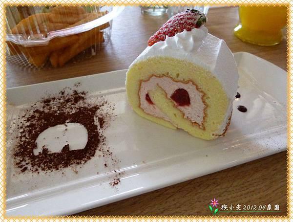 20120420象園 草莓蛋糕