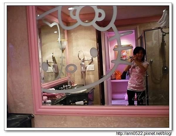 洗手間的鏡子