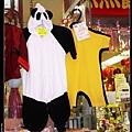 熊貓裝跟李小龍裝