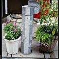 路邊的柱子