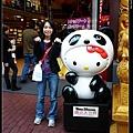 Kitty也要跟中國熊貓搭上邊