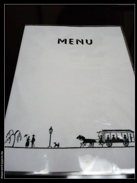 煉瓦亭~很陽春的菜單