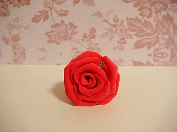 IB紅玫瑰手機防塵塞1