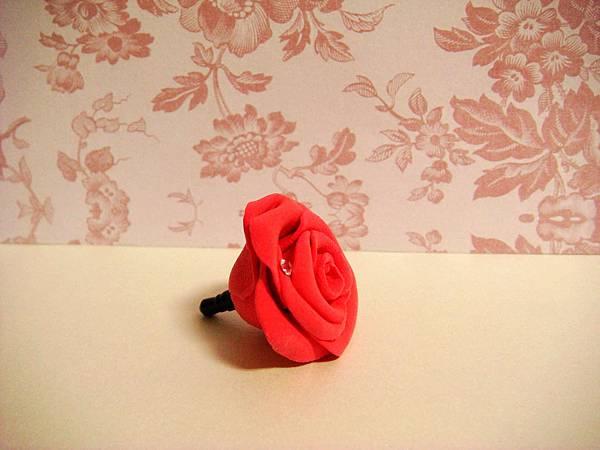 IB紅玫瑰手機防塵塞2