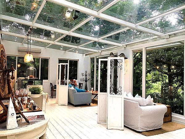 台北陽明山餐廳 好樣秘境VVG Hideaway 超美的白色玻璃屋咖啡廳