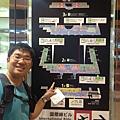 沖繩機場與單軌電車地圖