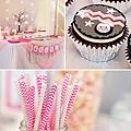 pink-grey-pengruin-dessert-table