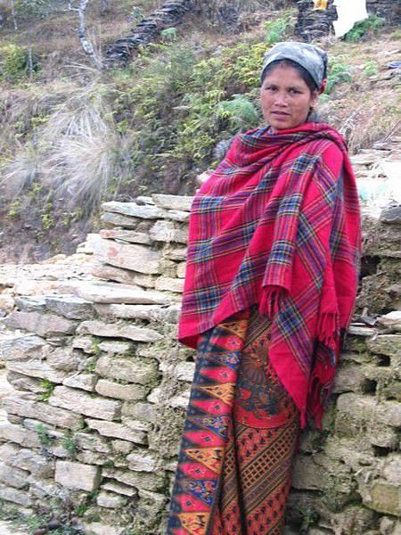 尼泊爾婦人