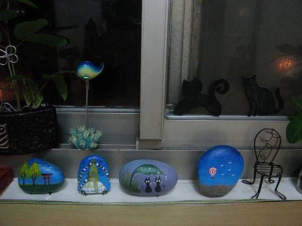 書房-窗台