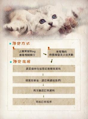 糖果屋2014農曆年貓住宿