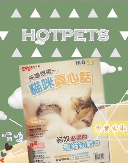 貓咪真心話雜誌免費索取
