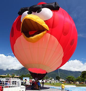 花蓮光復熱氣球-憤怒鳥