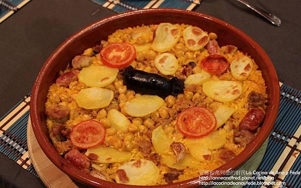 西班牙烤飯arroz al horno