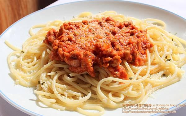 義大利肉醬麵Spaghetti a la boloñesa