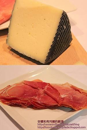 火腿和起司jamón y queso