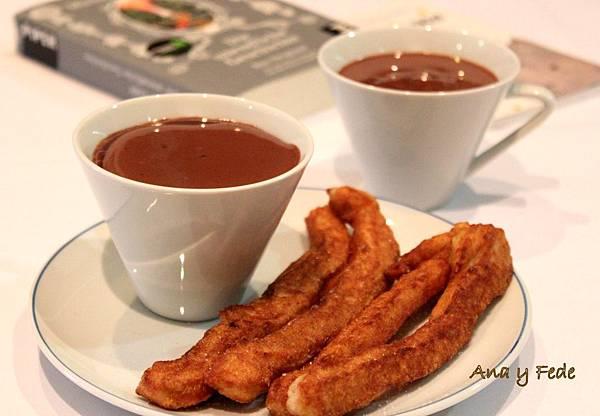 安娜和弗列德的廚房La Cocina de Ana y Fede_Churros