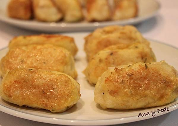安娜和弗列德的廚房La Cocina de Ana y Fede_albondigas de bacalao