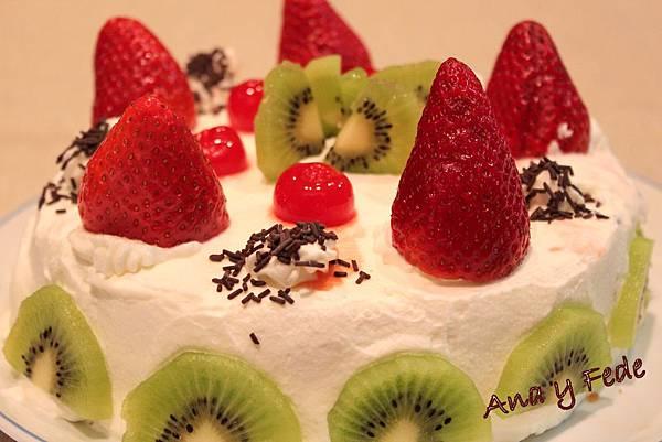 安娜和弗列德的廚房La Cocina de Ana y Fede_巧克力草莓蛋糕 Tarta de chocolate con fresa_1