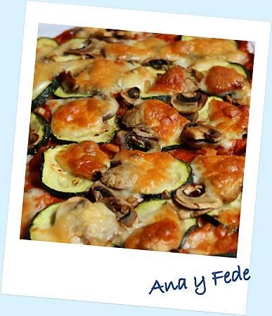 安娜和弗列德的廚房La Cocina de Ana y Fede_楖瓜千層麵 Lasaña con carne y verduras