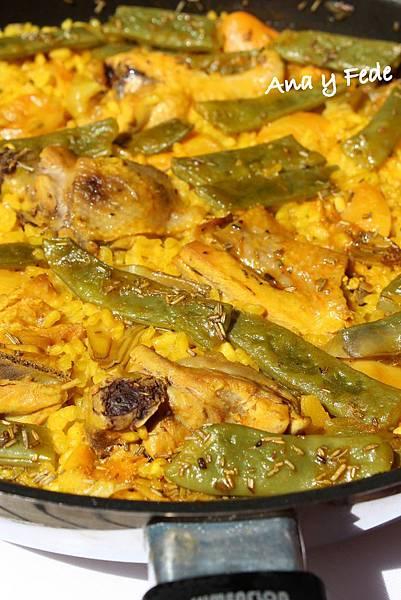 安娜和弗列德的廚房La Cocina de Ana y Fede_paella valenciana_3