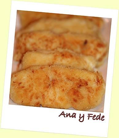 安娜和弗列德的廚房La Cocina de Ana y Fede_Croquetas de merluza 1