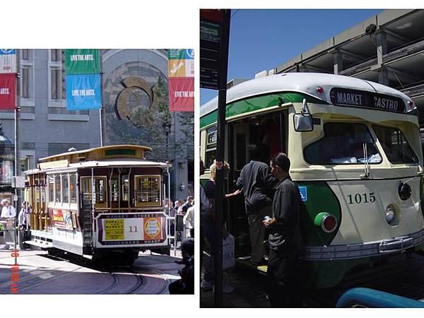屬於我的舊金山之復古電車.jpg