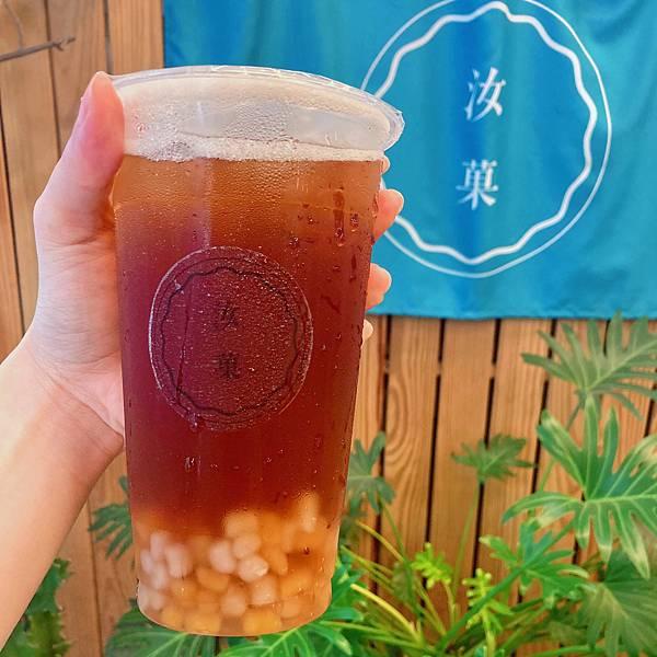 台北 合江街 飲料 汝菓 古早味紅茶01.JPG