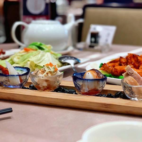 台北 中山區 春酒 聚會 合菜 台菜 滿穗 雙人套餐 前菜.JPG