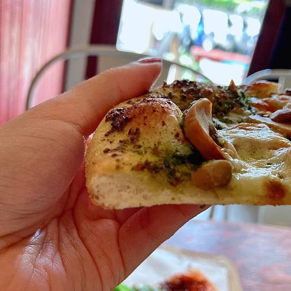 台北 大同區 中山站 承德路 Pizza La Bocca 義式手作披薩 超值午餐 吃到飽 青醬 鮮菇02.JPG