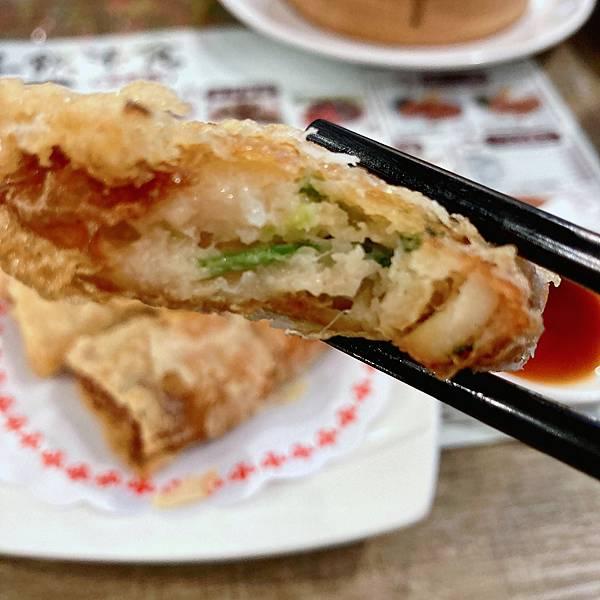 台北 中山區 港式 港飲港食茶餐廳 鮮蝦腐皮卷01.JPG