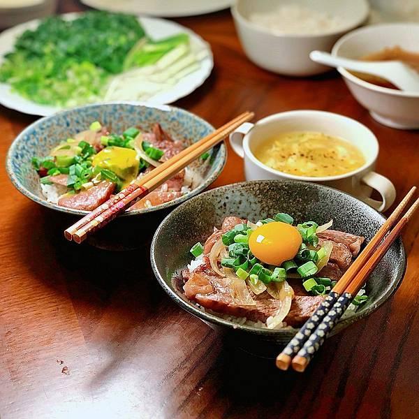 台北 中山區 大直 日和A5和牛專賣 月見牛丼 燒肉 牛排 料理 食譜01.JPG
