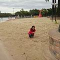 在城市內的沙灘..很酷吧