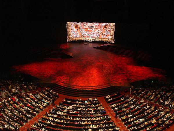 Las Vegas舞台-令人振奮