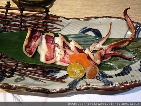 藍屋日本料理-燒烤烏賊