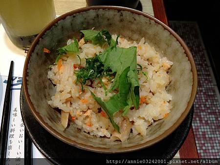 藍屋日本料理-鮭魚炒飯