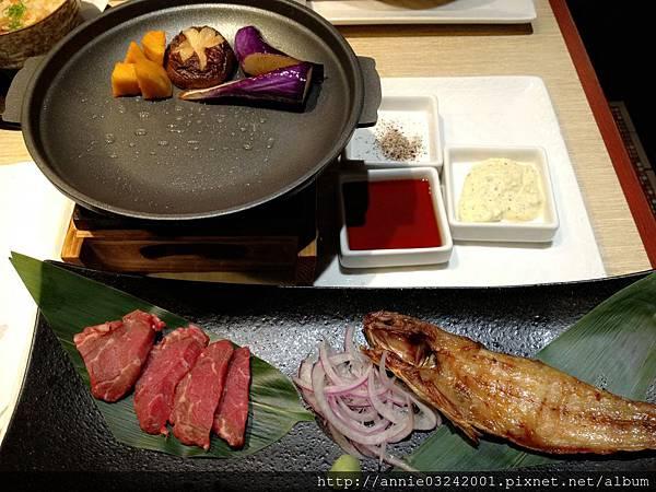 藍屋日本料理-燒烤菲力+一夜干