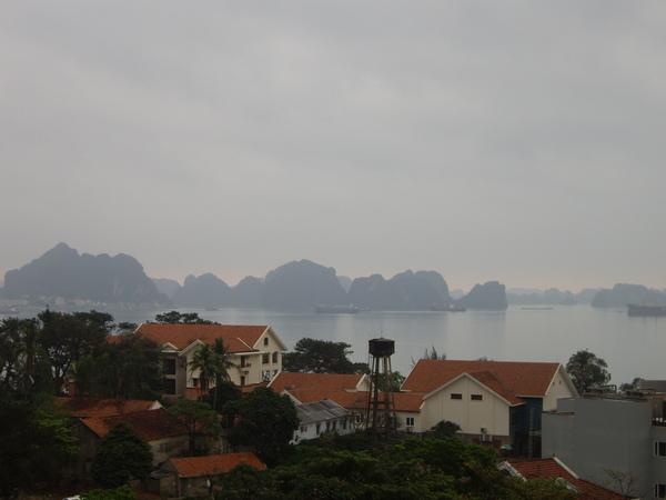 下龍灣清晨