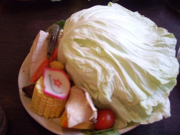 火鍋-菜盤
