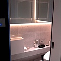 艾美酒店-沒有浴缸的浴室