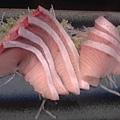 森井的紅甘生魚片