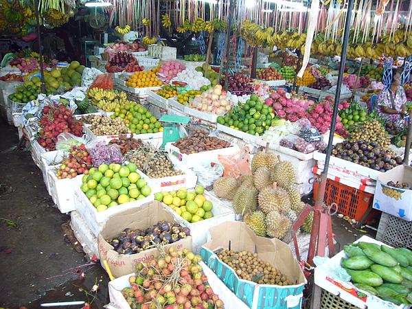 吳哥水果攤