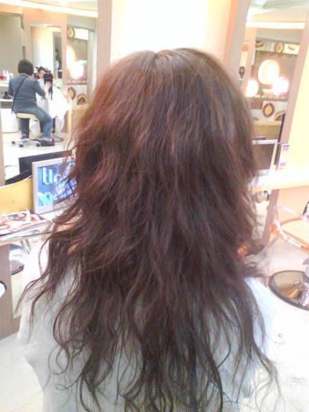 頭髮還是蠻長的