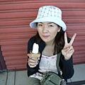 淡水吃冰淇淋