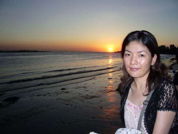 淡水河畔~美麗的夕陽
