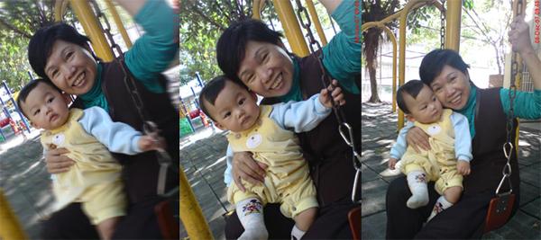 弟弟和阿嬤